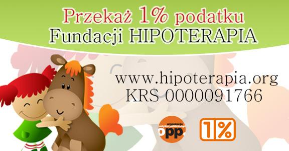 Fundacja Hipoterapia - Przekaż 1%